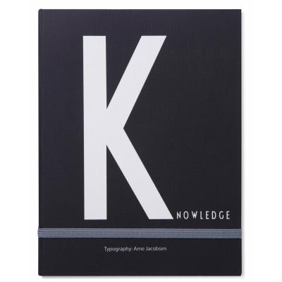 K för Knowledge anteckningsbok