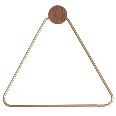 Brass hängare triangle