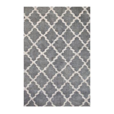 Stonewashed matta grå, 140x200