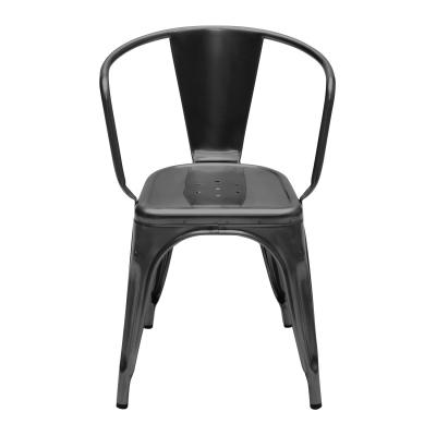 Tolix karmstol A56 svart/klarlack