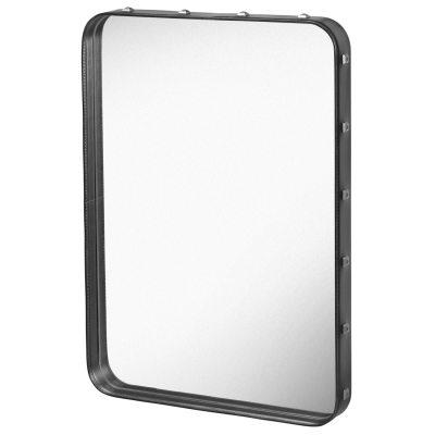 Adnet spegel S svart