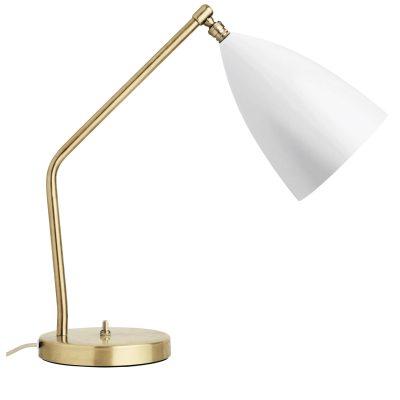 Bild av Grasshopper bordslampa, vit