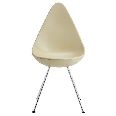 Drop stol, sand/krom
