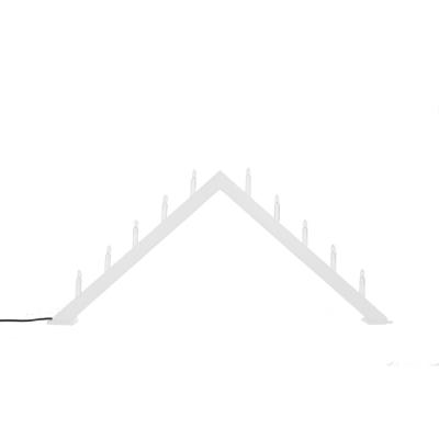 ÖR10 ljusstake, vit/grå