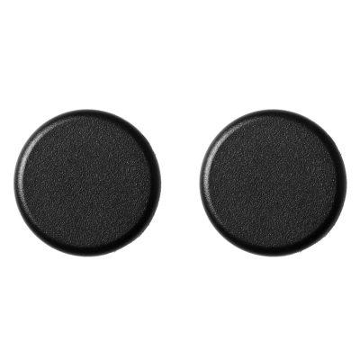 Knobs väggkrok 2-pack svart
