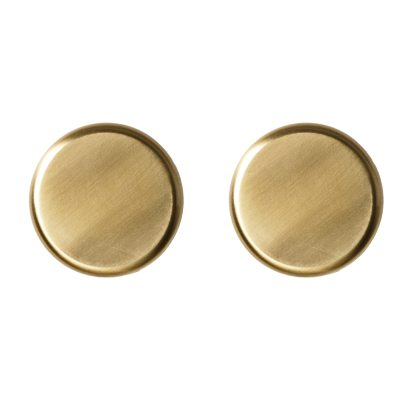 Knobs väggkrok 2-pack mässing