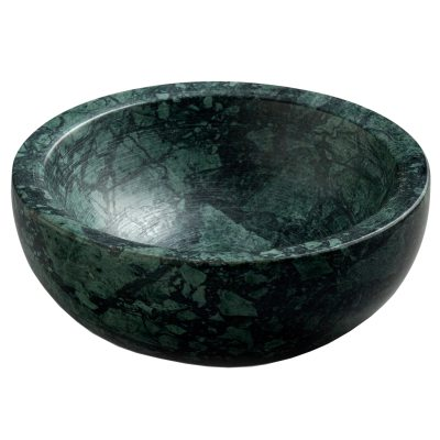 Marble skål grön marmor