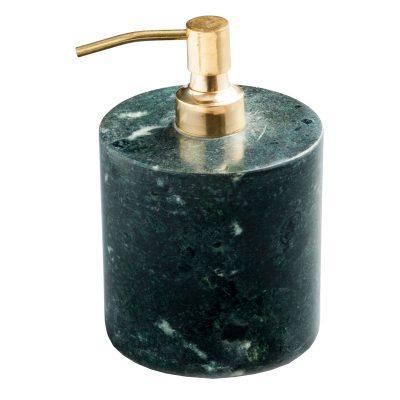 Tvålpump grön/mässing