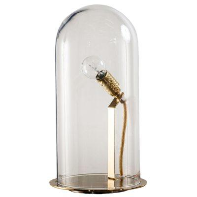 Bild av Speak Up! bordslampa S, klar/mässing
