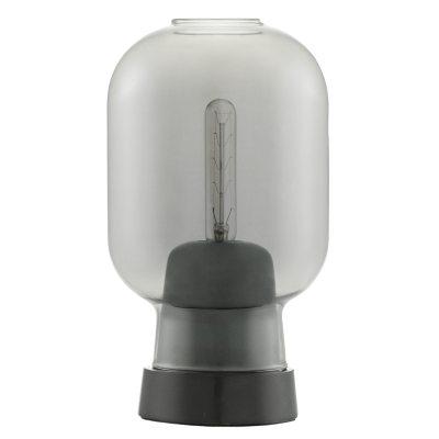 Bild av Amp bordslampa, smoke/svart