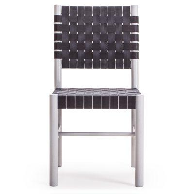 Milo A22 stol grå/svart
