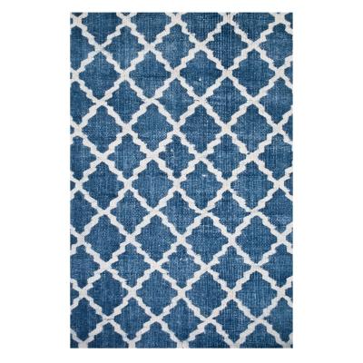 Stonewashed matta blå 140×200