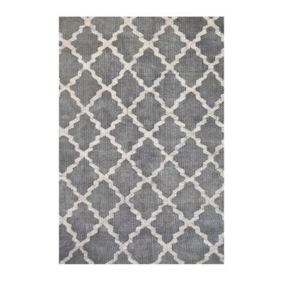Stonewashed matta grå 170×240