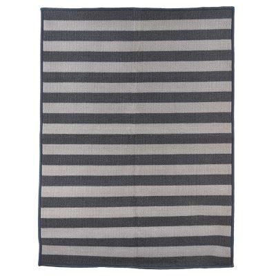 Stripe dörrmatta 60×120 grå