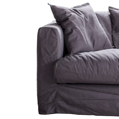 Le Grand Air Loveseat klädsel grå