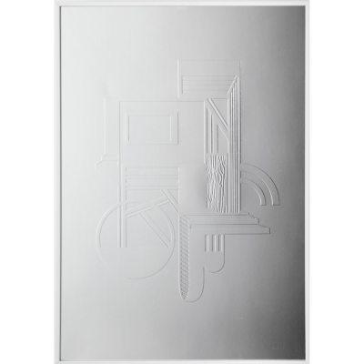 Bild av Bauhaus poster A 3, silver