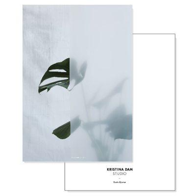 Bild av Split Leaf I vykort