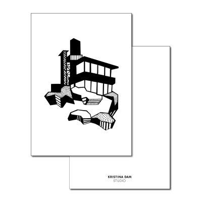 Mountain House vykort