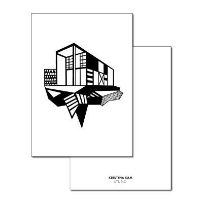Simpel House vykort
