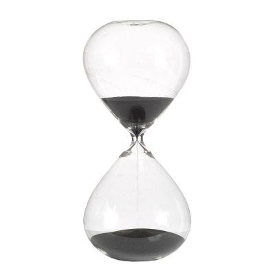 Ball timglas L grå