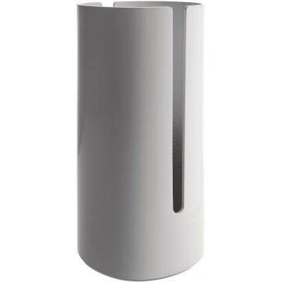 Birillo toalettrullshållare vit