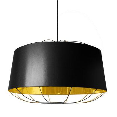 Lanterna pendel L svart/guld