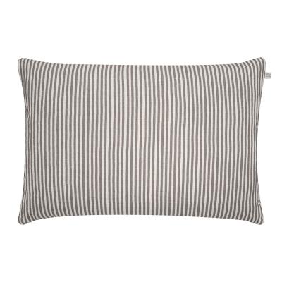 Stripe kuddfodral S grå