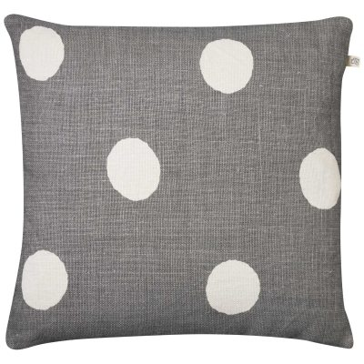 Big Dots Reverse kuddfodral grå