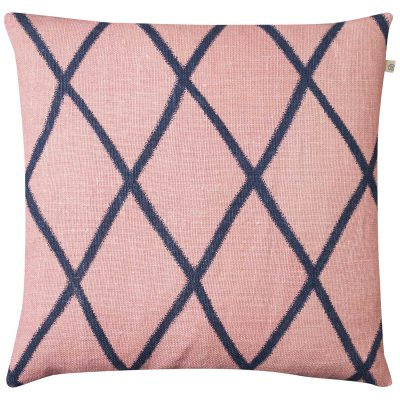 Ikat Orissa kuddfodral rosa/blå