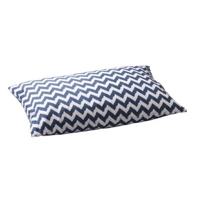Ikat Zigzag örngott 2-p 50x90, blå