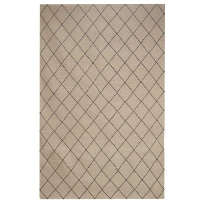 Diamond matta 230×336 beige/black