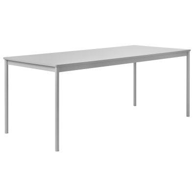 Base matbord 250×90 grå