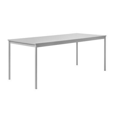 Base matbord 190×85 grå