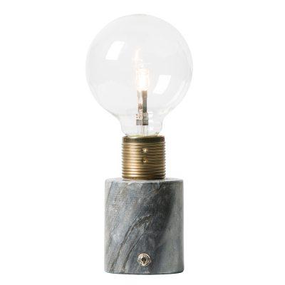 Bild av Sten bordslampa, svart marmor