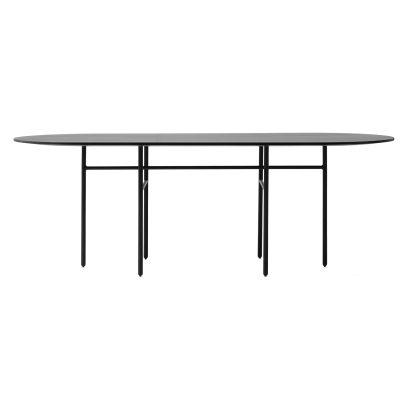 Bild av Snaregade Oval bord, svart
