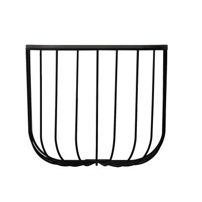 FUWL Cage hylla, svart/mörk ask