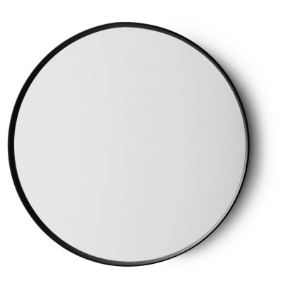 Norm spegel svart