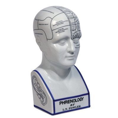 Phrenology Head dekoration