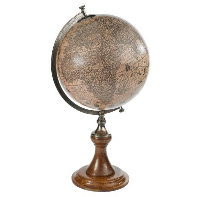 Bild av Hondius 1627 jordglob