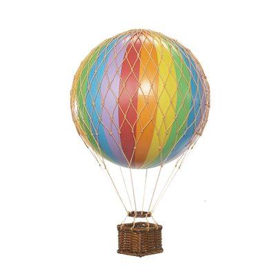 Bild av Floating the Skies luftballong, regnbåge