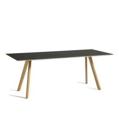 Bild av CPH 30 matbord 200x 90, ek/svart