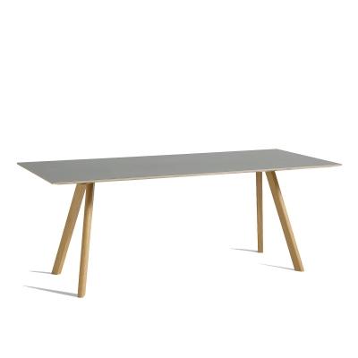 Bild av CPH 30 matbord 200x 90, ek/grå