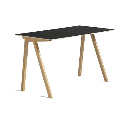 CPH 90 skrivbord, ek/svart