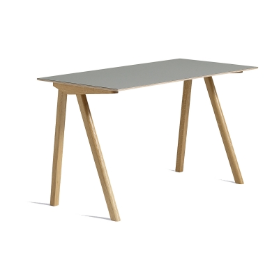 CPH 90 skrivbord, ek/grå