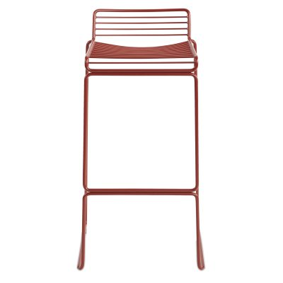 Hee barstol h65, röd
