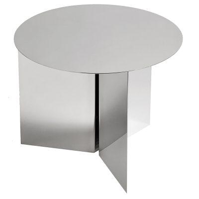 Slit Round bord spegelglas