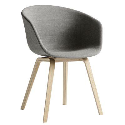 Bild av About a Chair 23, ekben/grå