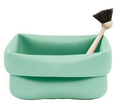 Washing-up skål & borste mint