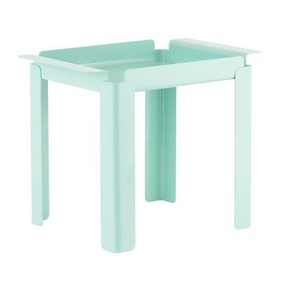 Box Table sidobord S turkos