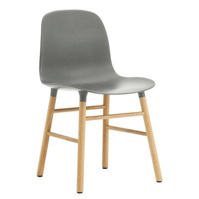 Form Chair grå/ek